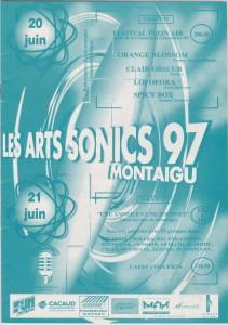 Les Arts Sonics 97 Montaigu - Programme