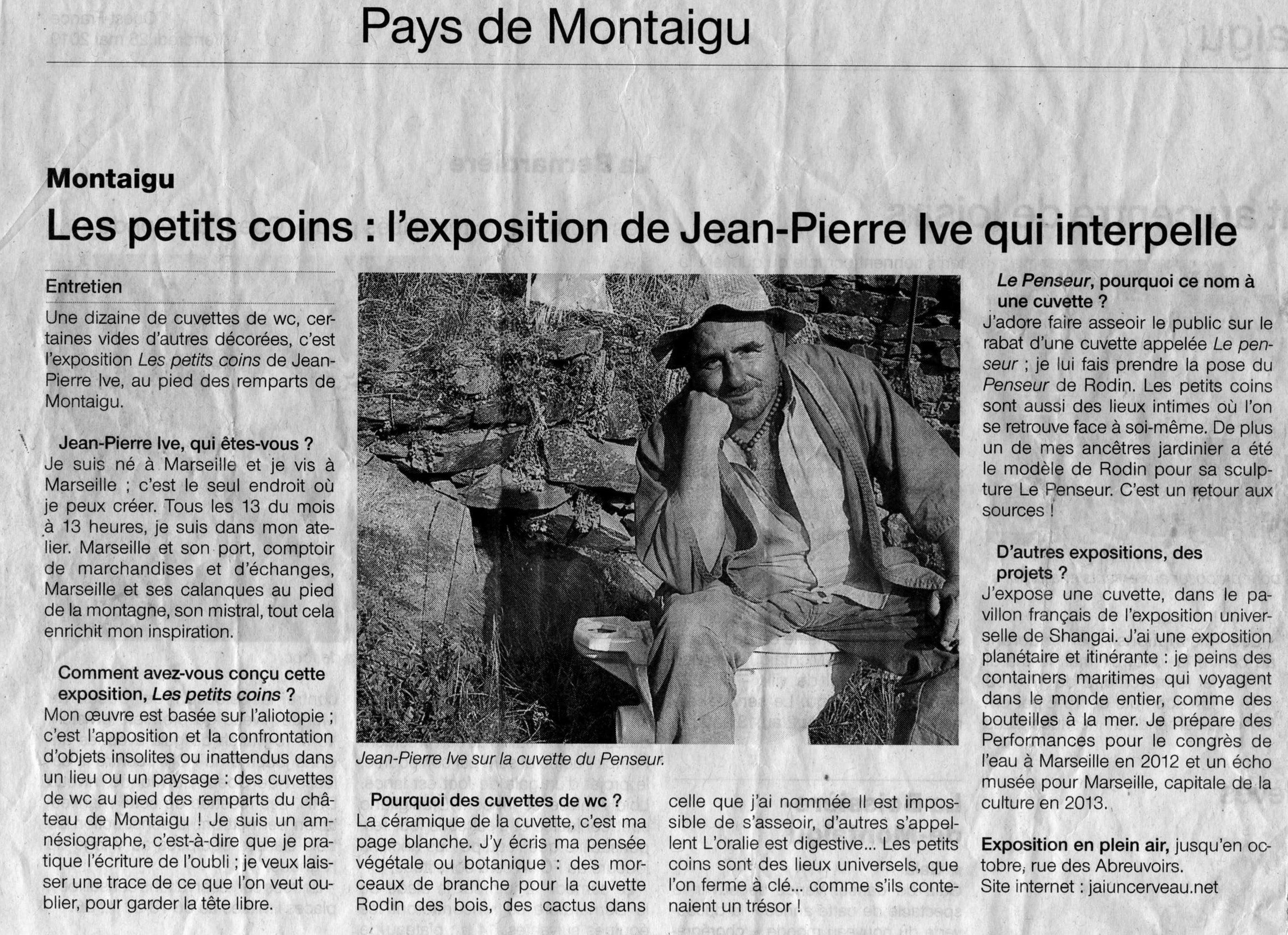 Jean Pierre ive - Les petits coins
